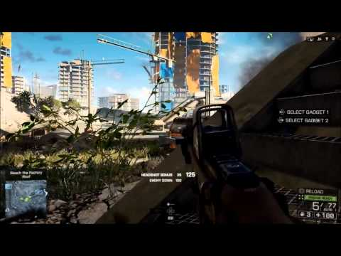 Battlefield 4 PS4 Campaign Gameplay (HD) 1080p