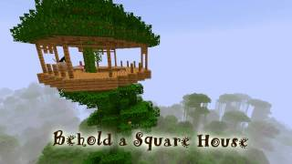 Royalty Free :Behold a Square House