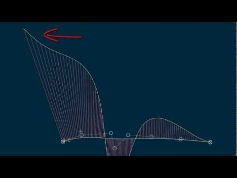 ICEM SURF Tutorial: Creating a Bezier Curve