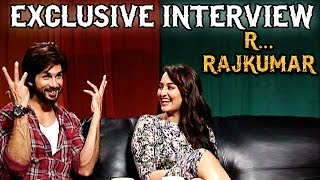 R...Rajkumar - Shahid Kapoor & Sonakshi Sinha talks about Saree Ke Fall Sa, Gandi Baat & more