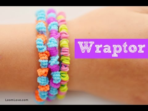How to Make a Wraptor Rainbow Loom Bracelet