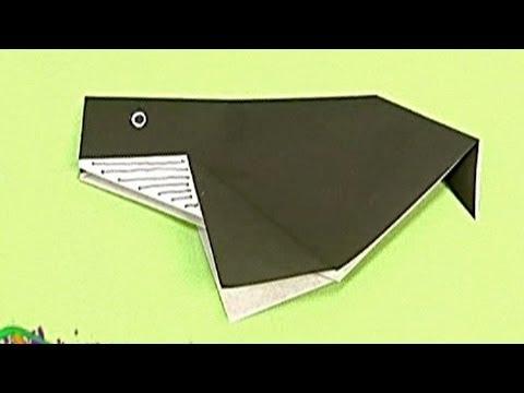 Çocuklar İçin Origami Whale (Öğretici) – Kağıttan Arkadaşlar 02
