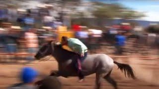 Carreras de caballos en El Salto (Villanueva, Zacatecas)