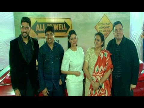 Grand Trailer Launch Of 'All Is Well'