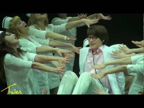 [HD fancam] 120529 Catch Me If You Can - Frank Kyuhyun Hospital Nurse Scene Cut