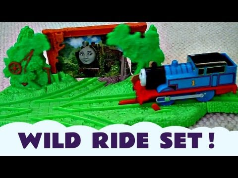 Trackmaster THOMAS' WILD RIDE Discovering HIRO Train Set