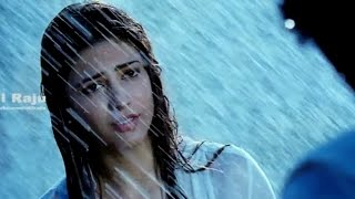 Ramayya Vasthavayya Telugu Movie Scenes - Shruti Hassan Rain Scene - NTR, Samantha - DILRAJU