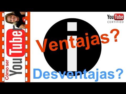 Ventajas y desventajas de las tarjetas en youtube