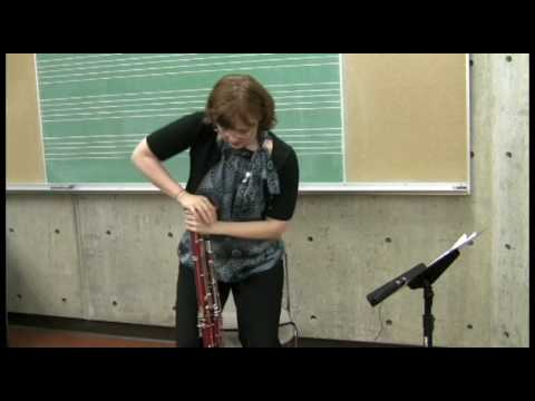 Putting the Bassoon Together