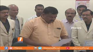 BJP Raja Singh Take Oath As MLA In Presence Of Speaker Pocharam Srinivas Reddy | iNews - INEWS