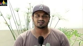 Manchu Manoj and Anisha Ambrose about Okkadu Migiladu Movie | Sri Balaji Video - SRIBALAJIMOVIES