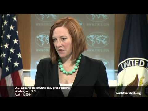 North Korea questions at State Dept. briefing, April 11, 2014