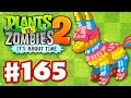 Plants vs. Zombies 2: It's About Time - Gameplay Walkthrough Part 165 - Piñata Party (iOS)