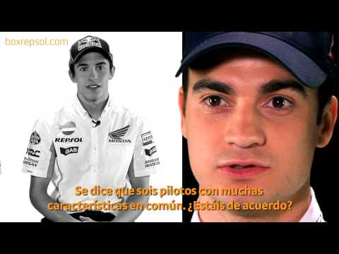 Pedrosa sobre Mrquez, Mrquez sobre Pedrosa. 2013