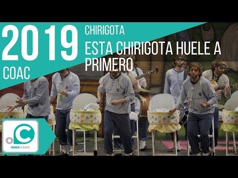 La agrupación Esta chirigota huele a primero llega al COAC 2019 en la modalidad de Chirigotas. Primera actuación de la agrupación para esta modalidad.