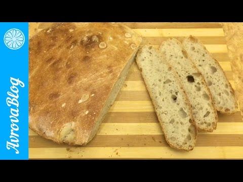 пшеничный хлеб на закваске видео