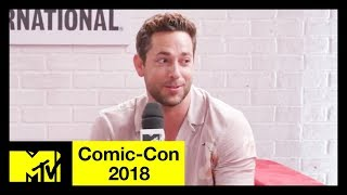 'Shazam!' Cast on Batman References, Black Adam, the DC Universe & More! | Comic-Con 2018 | MTV - MTV