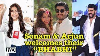 "Sonam & Arjun welcomes their ""BHABHI"" in Style - BOLLYWOODCOUNTRY"