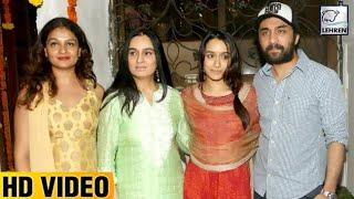 Shraddha Kapoor's Ganpati Visarjan 2017 | LehrenTV