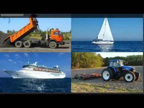мультфильм про лодки и про машинки