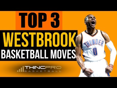 How to: Top 3 RUSSELL WESTBROOK Basketball Moves YOU Can Do in Games! (SCORE MORE POINTS With STYLE)