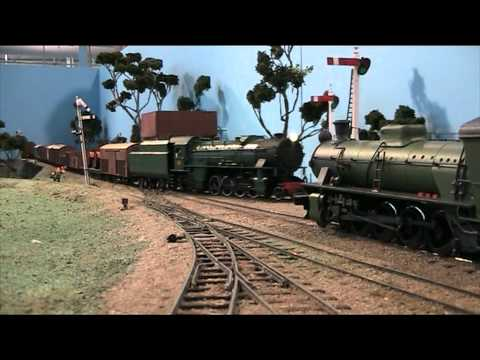 """Boyanup"" model railway layout -- 2010 Perth Model Railway Show"