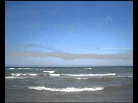 Senigallia Air Show - L'esibizione delle Frecce Tricolori