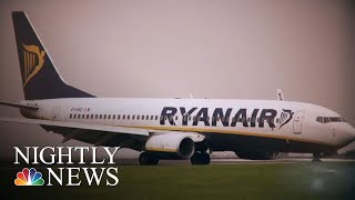 Passengers Outraged, Frightened After Pressure Drop Aboard Ryanair Flight | NBC Nightly News - NBCNEWS