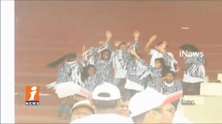 Run For Jesus 2017 Celebration In LB Stadium | Hyderabad | iNews - INEWS