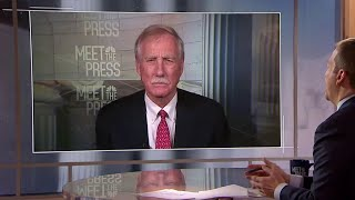 Full Angus King: 'I'm a conservative when it comes to impeachment' | Meet The Press | NBC News - NBCNEWS