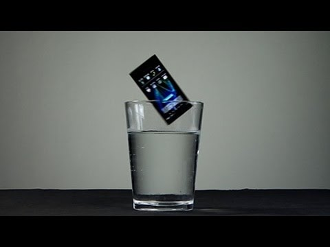 Waterproof Phone Test - Panasonic Eluga