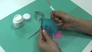 как пользоваться формами и текстурами (полимерная глина)
