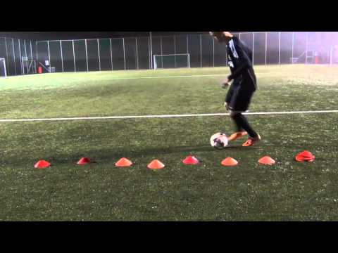 Alberto Kogano-Individual Training-Freestyle and Rabona shots