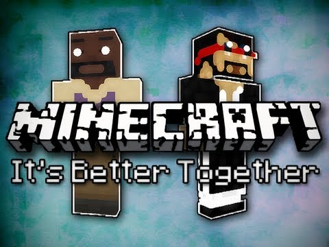 Minecraft It s Better Together w Mark Part 1 Mark Can t Jump