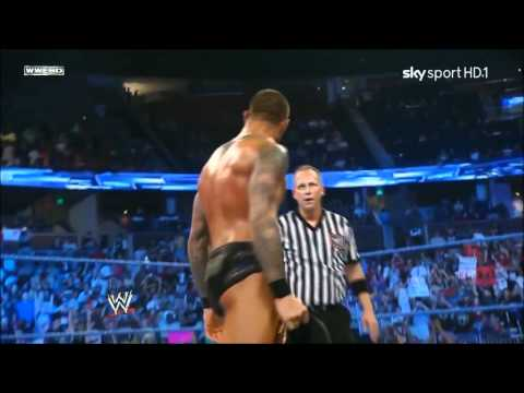 Randy Orton wins the World Heavyweight Championship (2011) *720p HD*