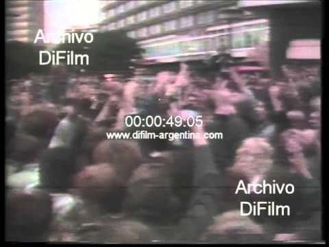 DiFilm - Michael Goebel new forum opposition group in DDR 1990