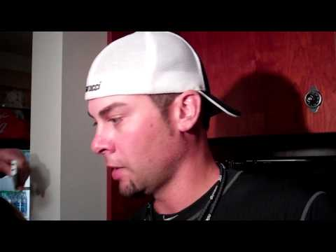 Ryan Vogelsong after fracturing hand
