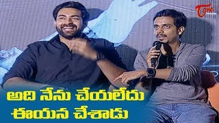 Varun Tej and Sankalp Super Answers To Media Questions | Antariksham Trailer Launch | TeluguOne - TELUGUONE