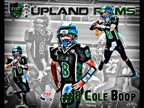 10yr old Cole Boop QB highlights 2012 All Star Quarterback..