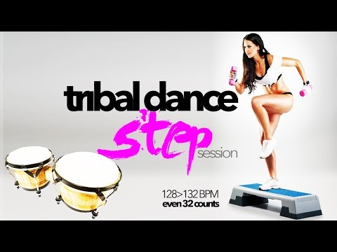 Hot Workout // Tribal Dance Step Session (128 - 132 BPM / 32 Count) // WMTV