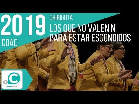 Sesión de Cuartos de final, la agrupación Los que no valen ni pa estar escondios actúa hoy en la modalidad de Chirigotas.