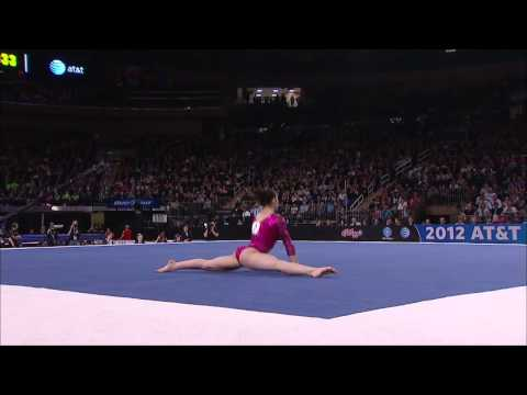 Alexandra Raisman - Floor Exercise - 2012 AT&amp;T American Cup
