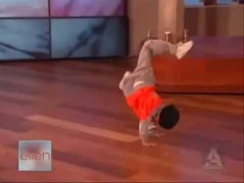 רקדן ברייקדאנס בן 6