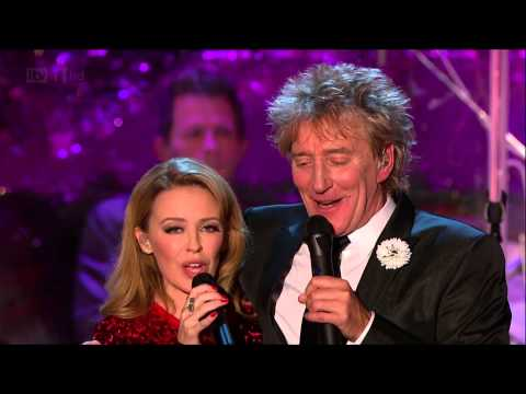 [HD] Kylie Minogue - Let It Snow (Rod Stewarts Christmas 2012)