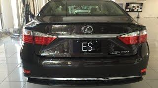 """لكزس اي اس 2015 بالتطويرات الجديدة """"تقرير وصور ومواصفات واسعار"""" Lexus Es"""