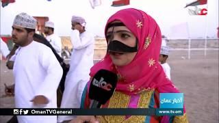 مهرجان رياضات الخيل التقليدية بولاية #منح