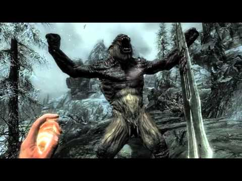 The Elder Scrolls V: Skyrim Gameplay Trailer 2011 NEW