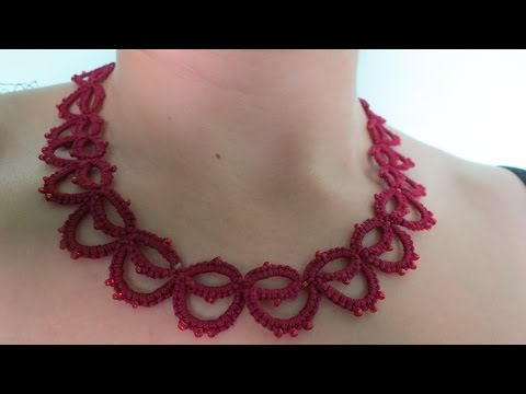 Needle Tatting Necklace