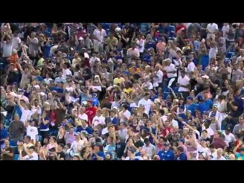 2012/08/31 Blue Jays' game-saving play