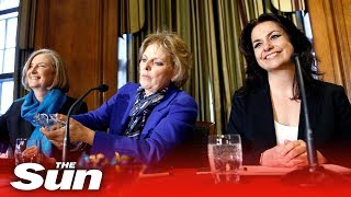 Ex-Tory MPs quizzed during press conference - THESUNNEWSPAPER